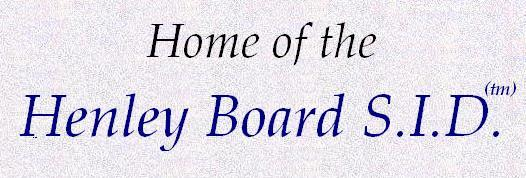 Welcome to Henley Board